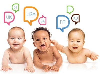 Bahasa Bayi, Bayi cerdas